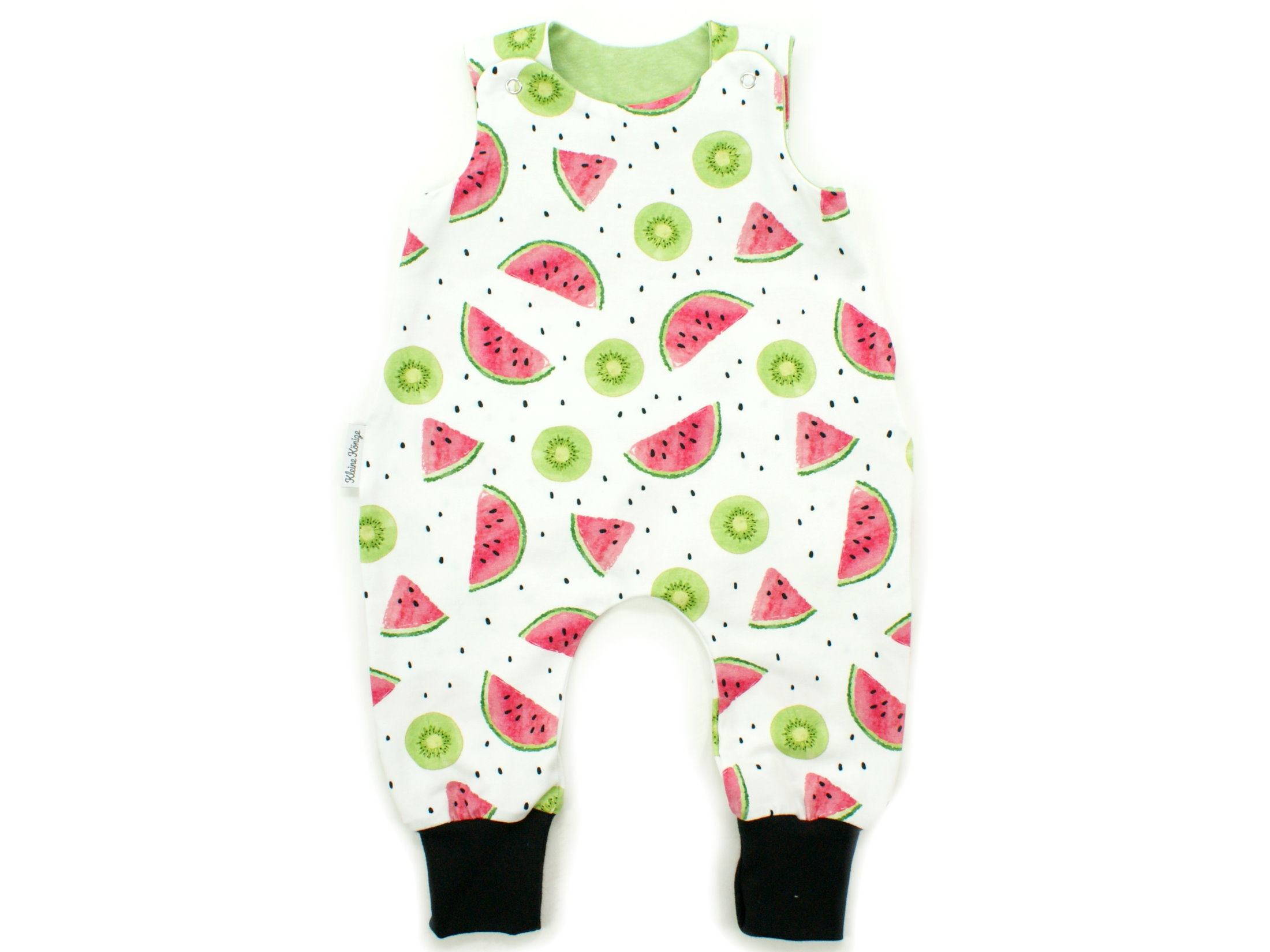 "Baby Strampler Kiwi Melone ""Fruity"" lemon"