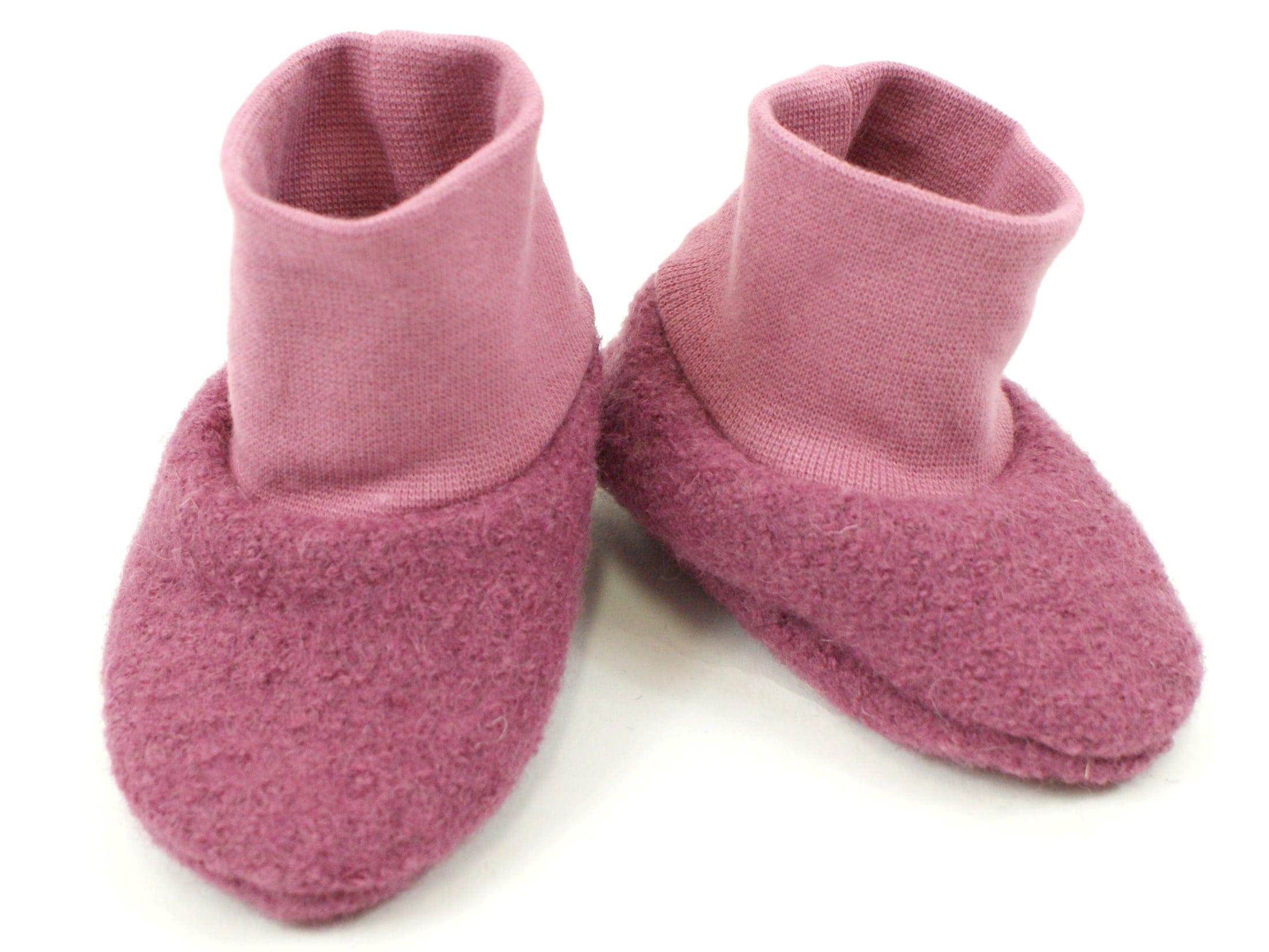 Walk Babyschuhe aus Wollwalk in 7 Farben