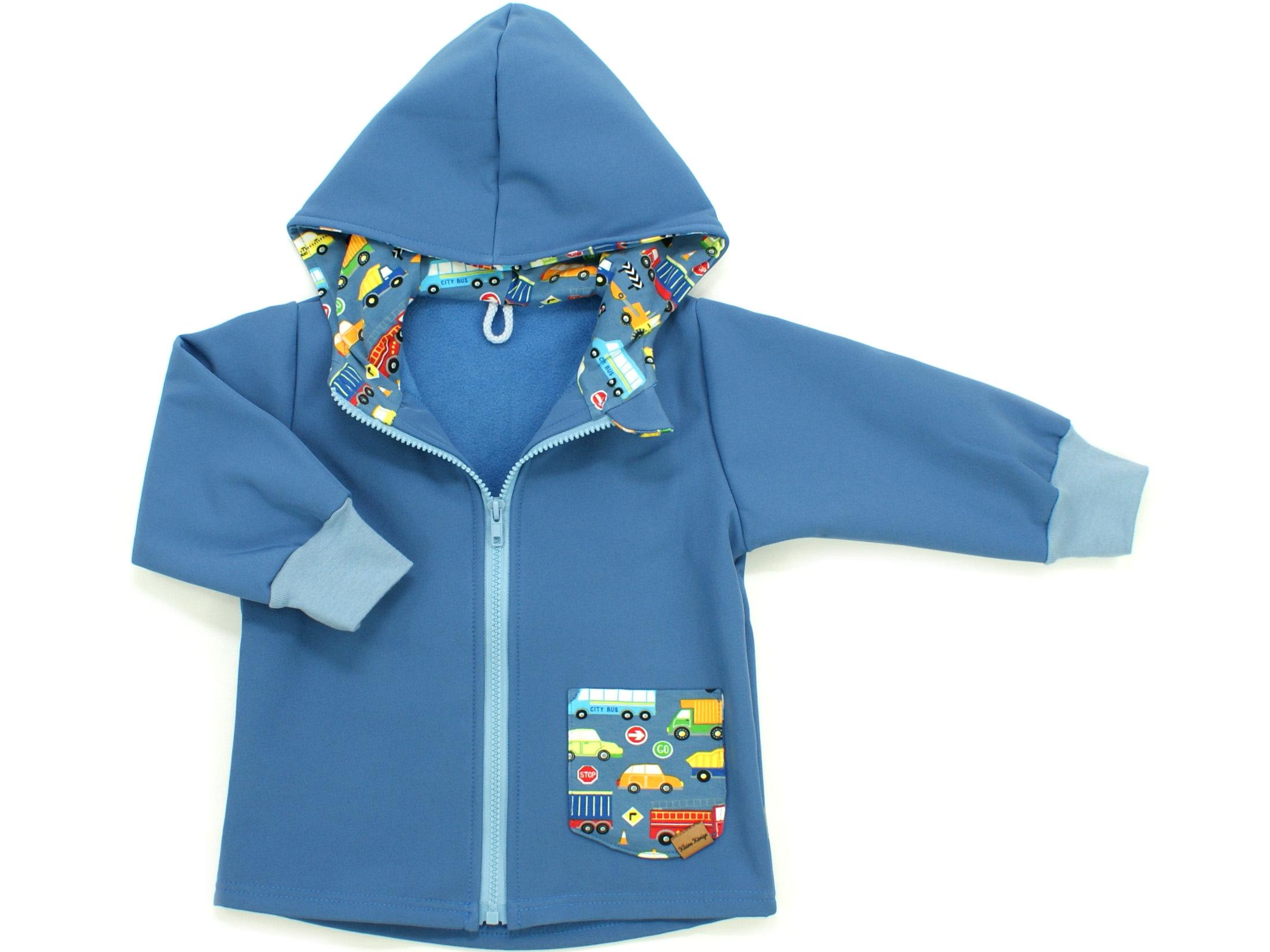 """Kinder Softshell-Jacke """"Uni"""" jeansblau"""