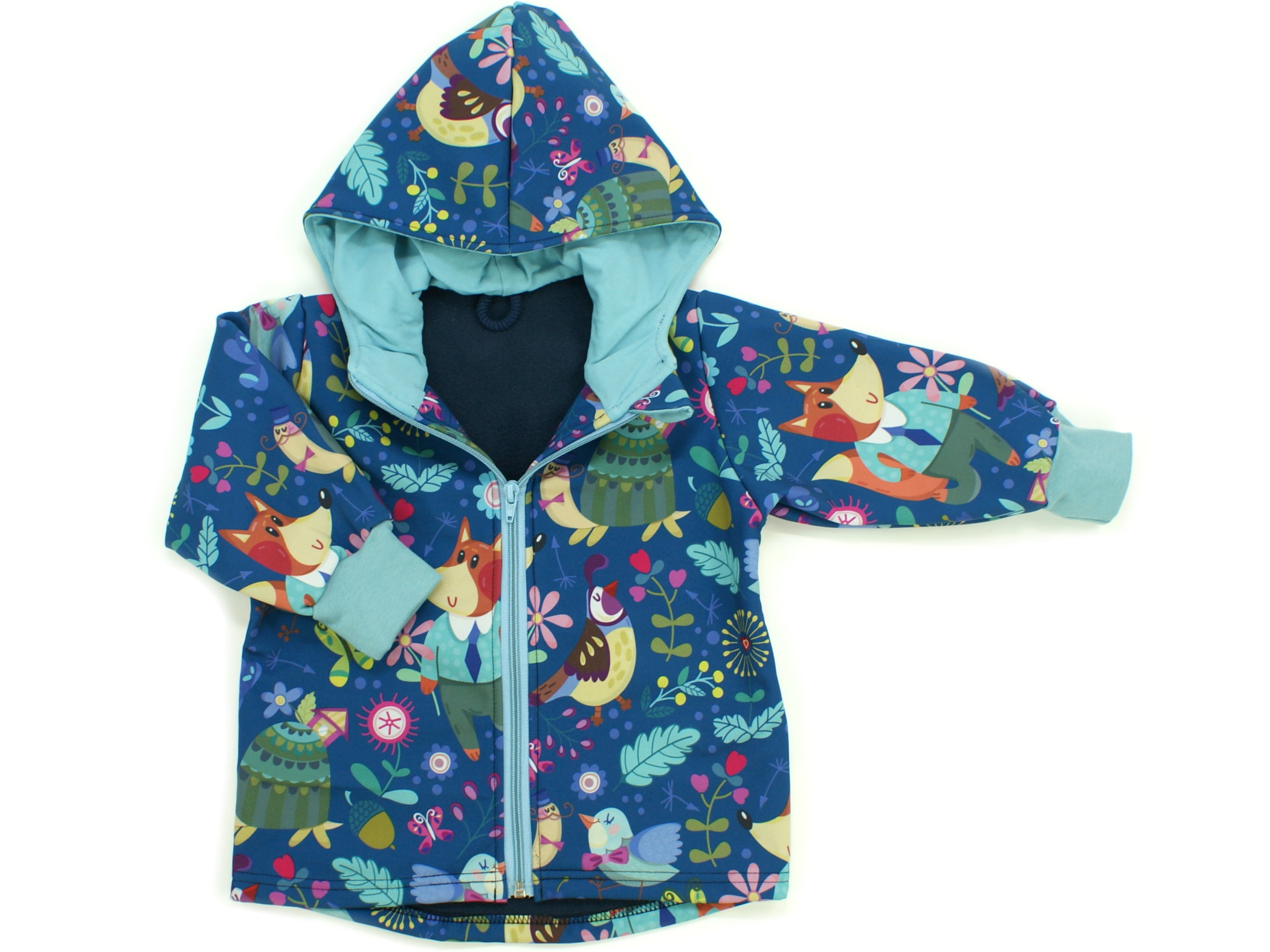 "Kinder Softshell-Jacke ""Wunderland"" blau"