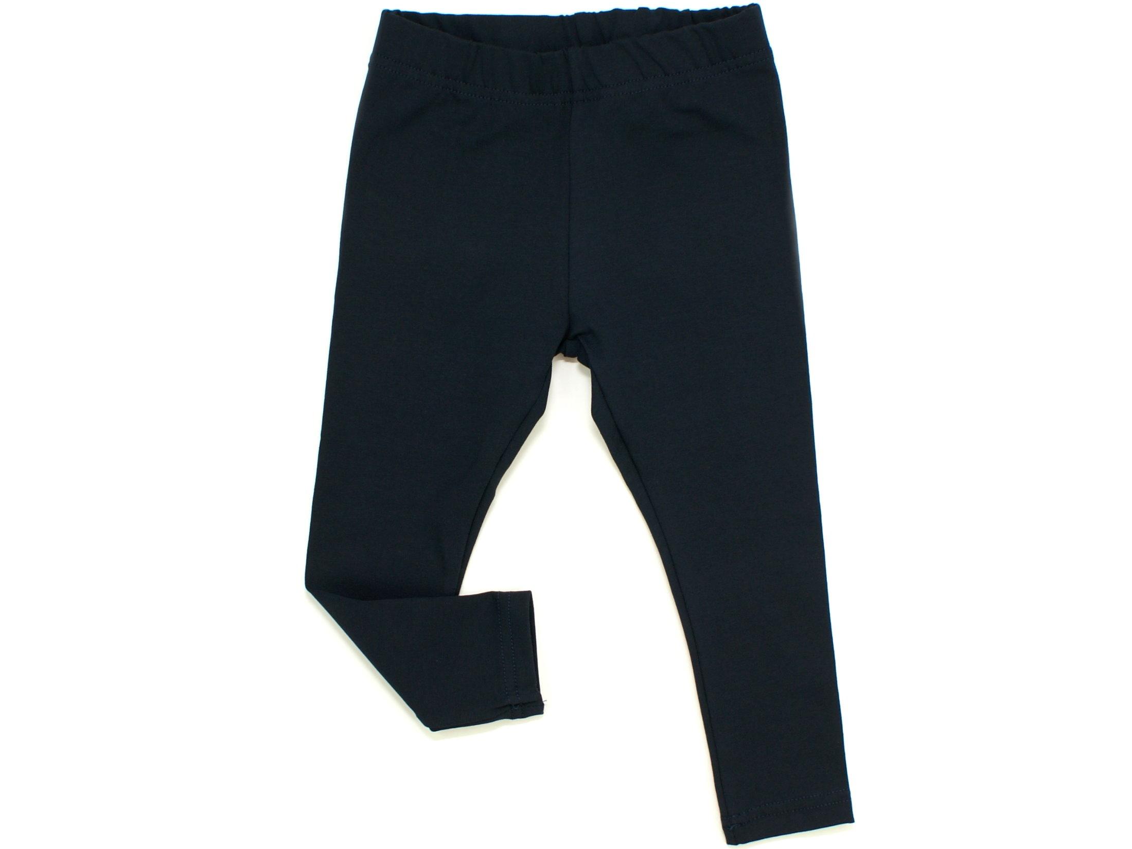 Kinder Leggings uni marineblau