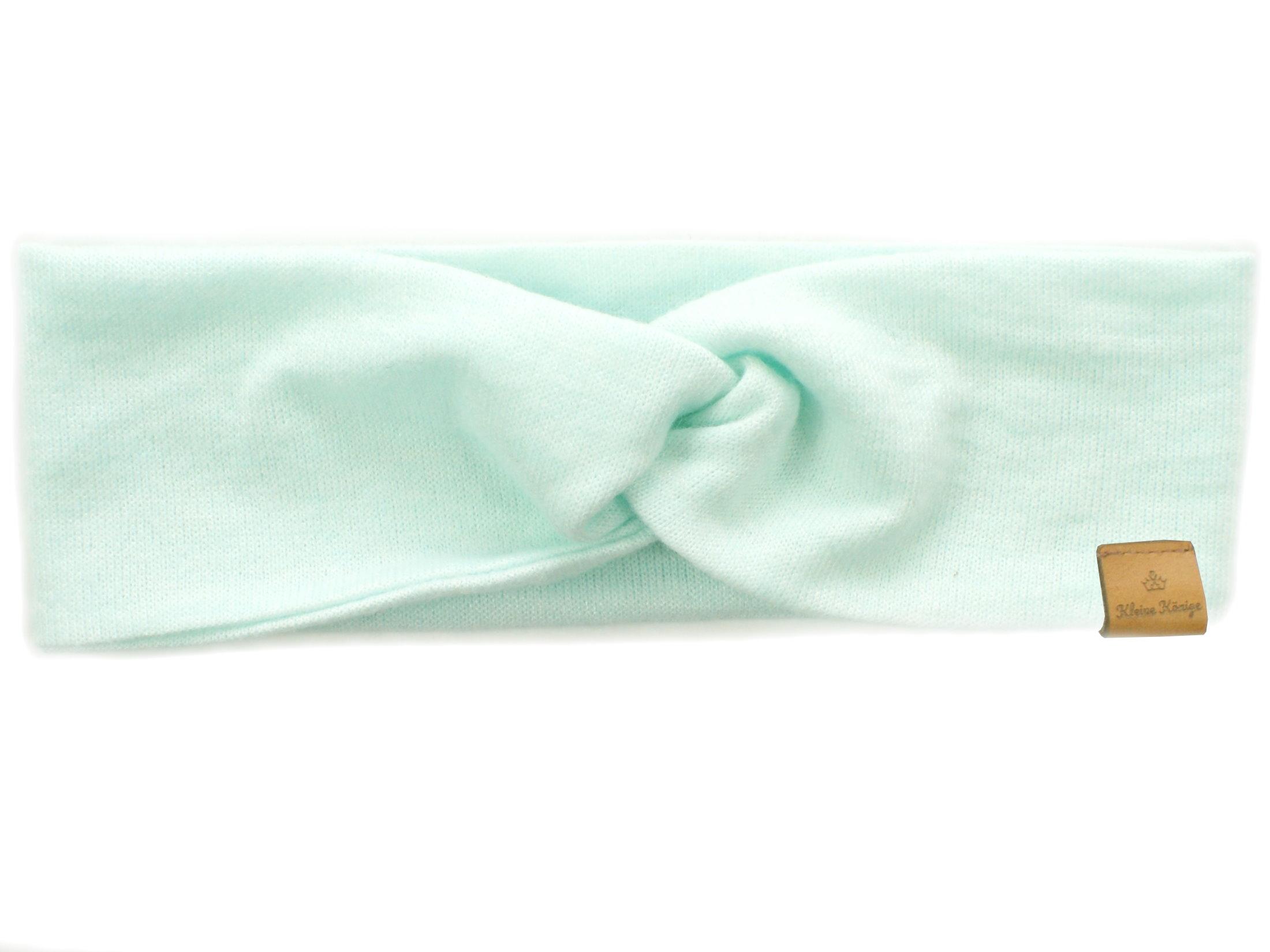 Damen Haarband aus Strickstoff in mint