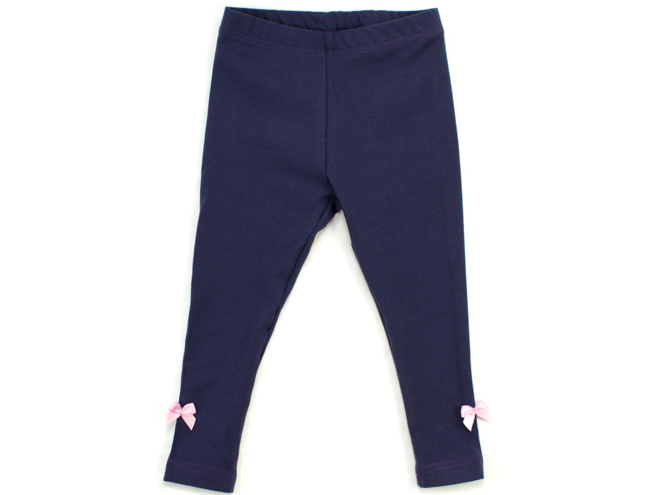 Kinder Leggings uni violett