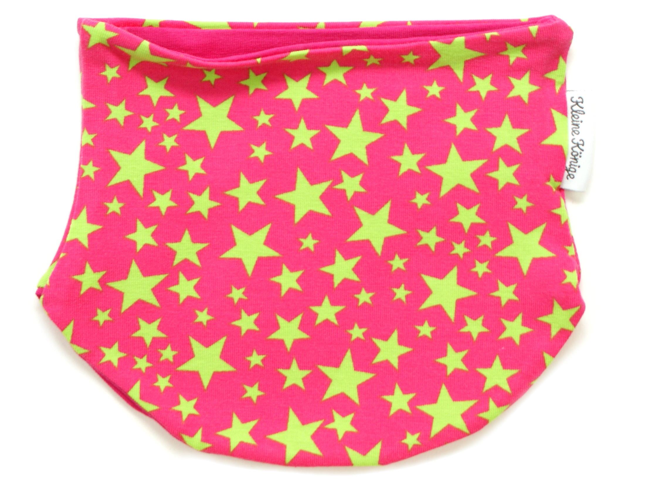 """Babyloop Halssocke Loop """"Sterntaler"""" pink lemon"""