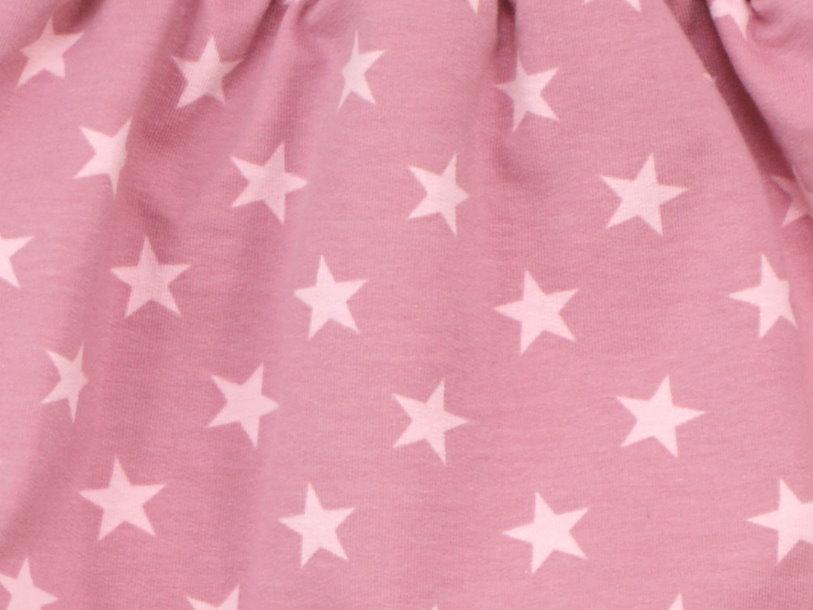 "Kindermütze  ""Sterne"" beere rosé"