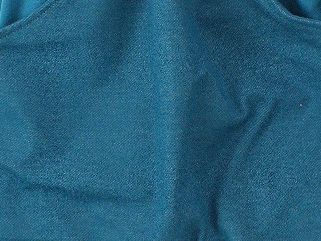 Kinderhose mit Taschen Jeansjersey petrol