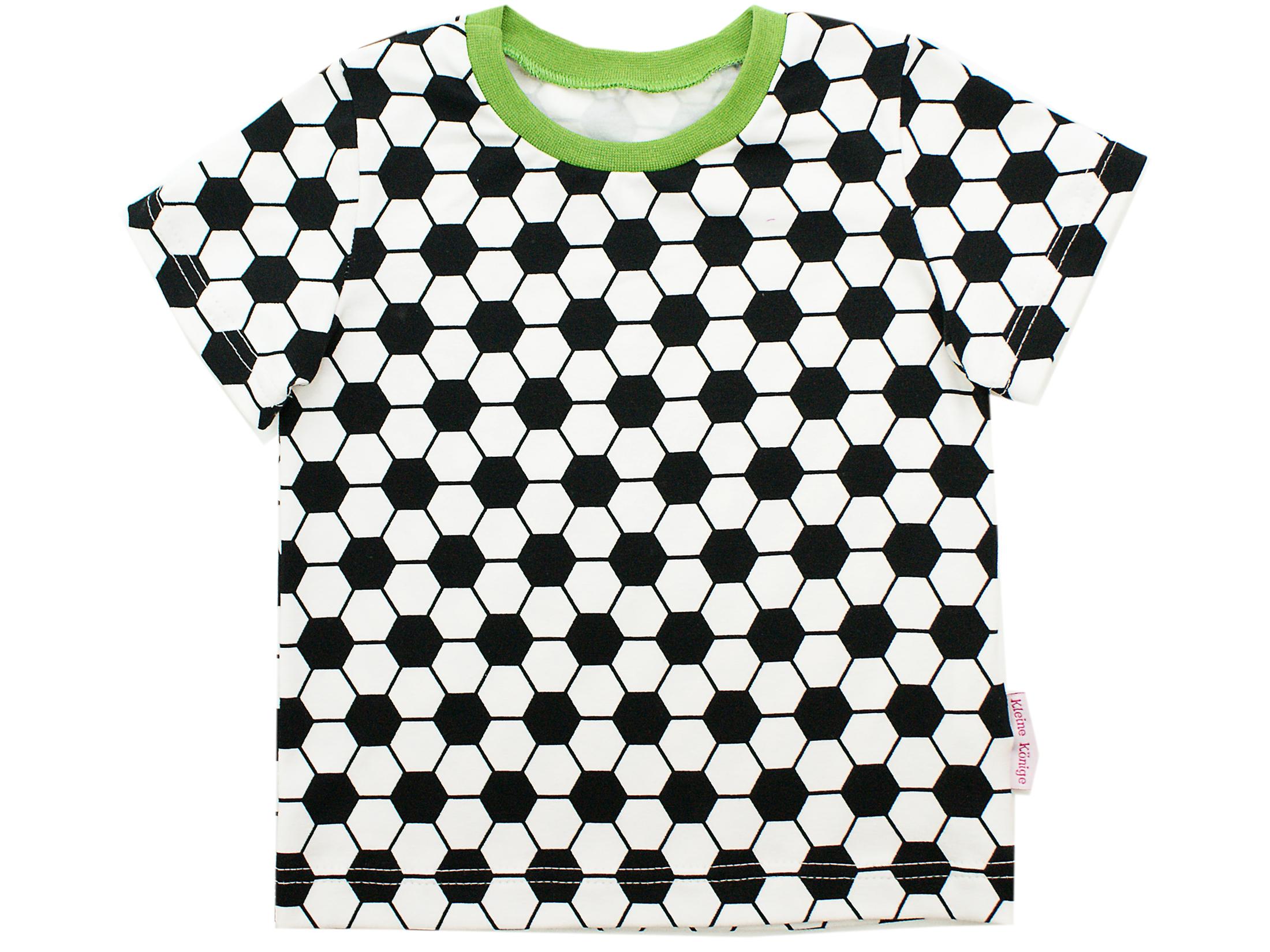 "Kinder T-Shirt ""Fußball"" grün in 74/80"