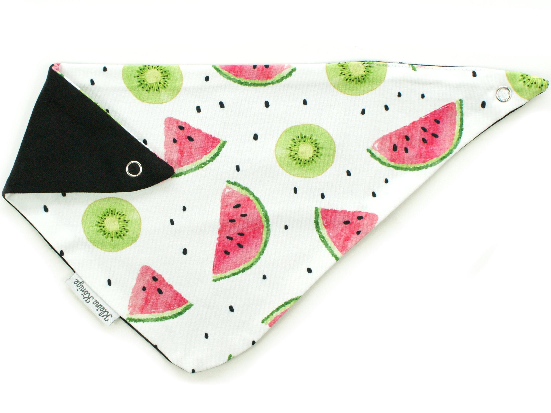 "Baby Wende-Halstuch Kiwi Melone ""Fruity"" lemon"