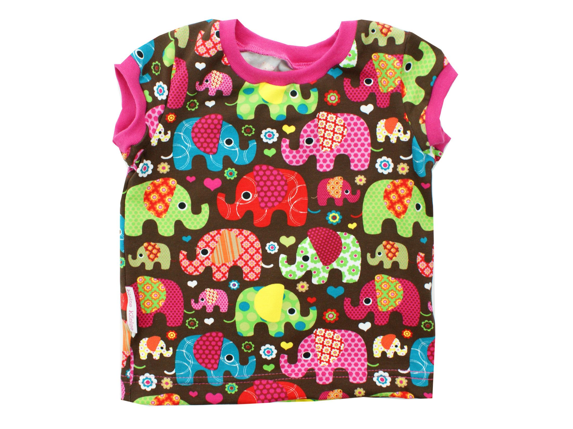 """Kinder T-Shirt """"Elefantenparty"""" pink"""
