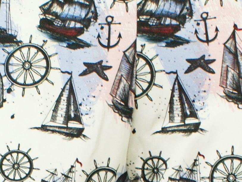 "Damenhose Wohlfühlhose Segelboot ""Sea Trip"" schwarz"