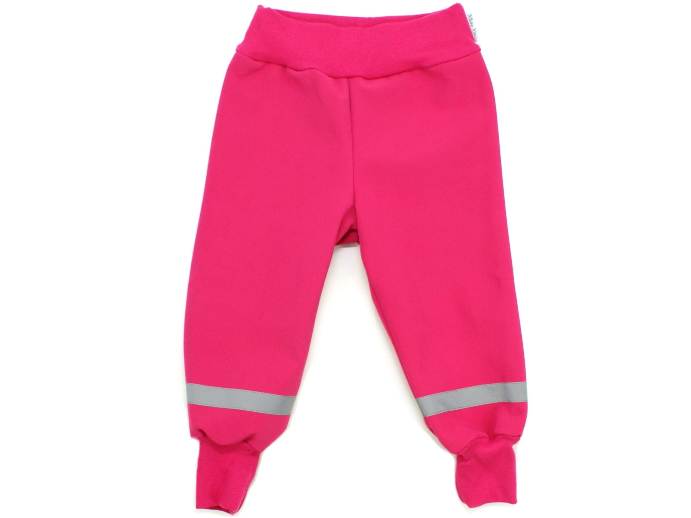 "Kinder Softshell-Hose ""Uni"" pink"